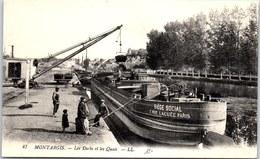 45 MONTARGIS - Les Docks Et Les Quais. - Montargis