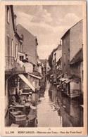 45 MONTARGIS - Maison Sur L'eau, Rue Du Pont Neuf. - Montargis