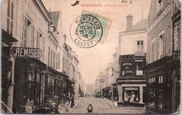 45 MONTARGIS - Perspective De La Rue Dorée (pli) - Montargis