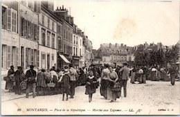 45 MONTARGIS - Place De La République, Marché Aux Légumes - Montargis