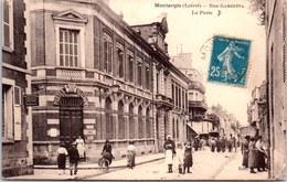45 MONTARGIS - Rue Gambetta - La Poste. - Montargis
