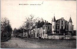 45 MONTARGIS - Une Vue Sur L'avenue De La Gare - - Montargis