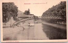45 MONTARGIS - Vue De La Passerelle Sur Le Canal. - Montargis