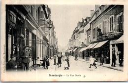 45 MONTARGIS - Vue De La Rue Dorée. - Montargis