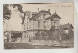 CPSM RAON L'ETAPE (Vosges) - LA NEUVEVILLE LES RAON : Hôtel De La Gare - Raon L'Etape