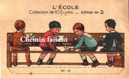 Chromo CHOCOLAT REVILLON - L'Ecole N°13. - Scans Recto-verso - Revillon