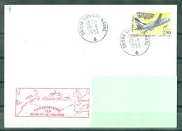 MARCOPHILIE - FREGATE VENDEMIAIRE TLD 20.08.93 AU 28.09.93 Cachet De LORIENT NAVAL Du 20 - 8 - 1993 - Poste Navale