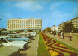 "Romania - Postcard Used 1973 - Pitesti - ""Muntenia""  Hotel - 2/scans - Roumanie"