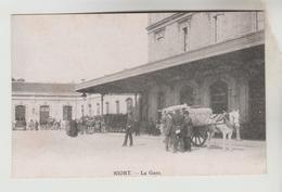 CPA NIORT (Deux Sèvres) - La Gare - Niort