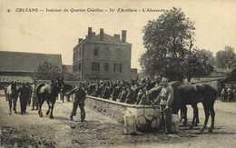 ORLEANS  Intrerieur Du Quartier Chatillon 20e D'Artillerie L'Abreuvoir RV - Orleans