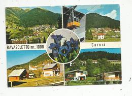 Cp , Italie , RAVASCLETTO ,  Camia , M. 1000 , Voyagée 1980, Multi Vues - Autres Villes