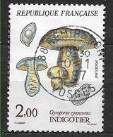 FRANCE 2488 Flore Et Faune Champignons Indigotier Gyroporus Cyanescens . - France
