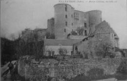 Villentrois : Ancien Chateau, Ensemble Est - Francia
