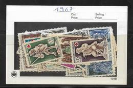 France Année  1967 Complète En Oblitéré N °1511 A 1541  Cote 14 € - France