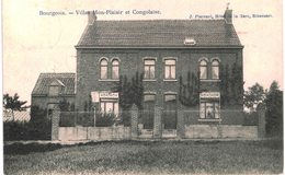 BOURGEOIS   Villas Mon Plaisir Et Congolaise. - Rixensart