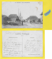 CPA 68 ֎ Village De Ballersdorf - Guérite Militaire ֎ 1917 - France