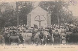 Bousval ;( Genappe )  , Inauguration Du Calvaire - Genappe