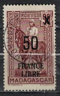 MADAGASCAR           N°  YVERT       258          OBLITERE       ( O   3/48 ) - Madagaskar (1889-1960)