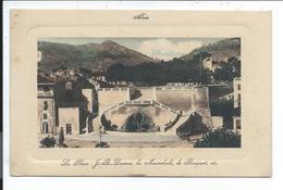Ales ,alais ,place Dumas , La Marechale ,le Bosquet - Alès