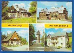 Deutschland; Auersberg Erzgeb.; Multibildkarte - Auersberg