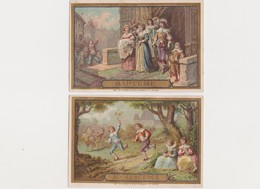 6 Chromos , Imp. Petithenry , Paris / Chocolat Aiguebelle -Guillemenot-Berthet , Dépositaire à Nevers - Aiguebelle