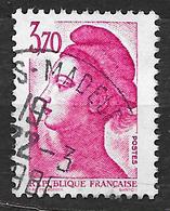 FRANCE 2486 Liberté De Gandon 3.70F Rose . - France