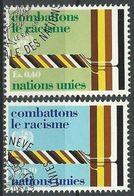 UNO GENF 1977 Mi-Nr. 68/69 O Used - Aus Abo - Office De Genève