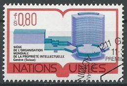 UNO GENF 1977 Mi-Nr. 63 O Used - Aus Abo - Office De Genève