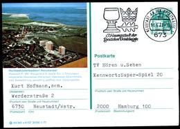 76332) BRD - P 124 E8/107 - OO Gestempelt 6730 - 2941 Wangerland 2 - Horumersiel - [7] République Fédérale