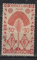 MADAGASCAR           N°  YVERT       268         OBLITERE       ( O   3/48 ) - Oblitérés