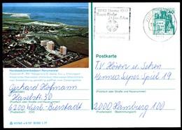 76333) BRD - P 124 E8/107 - OO Gestempelt 6200 - 2941 Wangerland 2 - Horumersiel - [7] République Fédérale