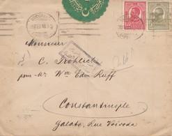 Rumänien: 1916: Brief Bucuresti Nach Constantinople - Rumänien