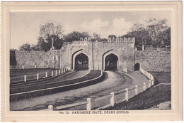 Kashmere Gate, Delhi - (India) - (Publ.: H.A. Mirza & Sons, Delhi) - India