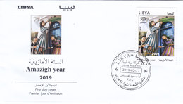 Libya New Issue 2019, Amasigh Year 1v.complete Set On OFFICIAL FDC  SKRILL PAYMENT ONLY - Libya