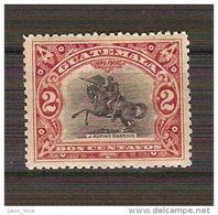 Guatemala 1902 J. RUFINO BARRIOS Statue Horse Scott #115 STAMP MNH - Guatemala