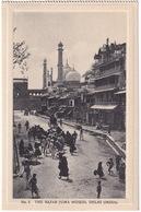 The Bazar Juma Musjid, Delhi - (India) - (Publ.: H.A. Mirza & Sons, Delhi) - India