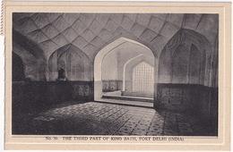The Third Part Of King Bath, Delhi - (India) - (Publ.: H.A. Mirza & Sons, Delhi) - India