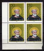 Germany - 1980 The 1500th Anniversary Of The Birth Of Benedikt From Nursia.4 X Stamps. MNH - [7] République Fédérale