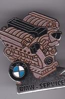 Pin's  MOTEUR BMW SIGNE DEMON ET MERVEILLE - BMW