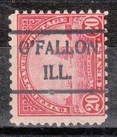 USA Precancel Vorausentwertung Preo, Locals Illinois, O'Fallon 698-492 - Vereinigte Staaten