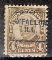 USA Precancel Vorausentwertung Preo, Locals Illinois, O'Fallon 685-703 - Vereinigte Staaten