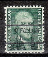 USA Precancel Vorausentwertung Preo, Locals Illinois, O'Fallon 841 - Vereinigte Staaten