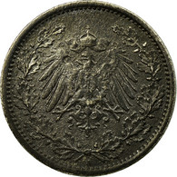 Monnaie, GERMANY - EMPIRE, 1/2 Mark, 1915, Berlin, TTB, Argent, KM:17 - [ 2] 1871-1918 : Empire Allemand