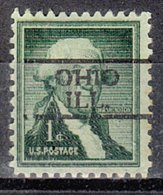 USA Precancel Vorausentwertung Preo, Locals Illinois, Ohio 728 - Vereinigte Staaten