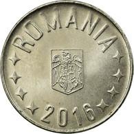 Monnaie, Roumanie, 10 Bani, 2016, TTB, Nickel Plated Steel - Romania