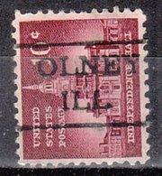 USA Precancel Vorausentwertung Preo, Locals Illinois, Olney 477 - Vereinigte Staaten