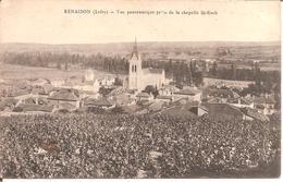 RENAISON (42) Vue Panoramique Prise De La Chapelle De St-Roch - Autres Communes