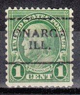 USA Precancel Vorausentwertung Preo, Locals Illinois, Onarga 632-701 - Vereinigte Staaten