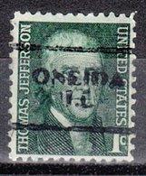 USA Precancel Vorausentwertung Preo, Locals Illinois, Oneida 701 - Vereinigte Staaten