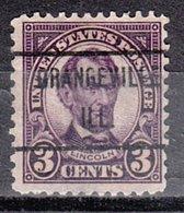 USA Precancel Vorausentwertung Preo, Locals Illinois, Orangeville 635-471 - Vereinigte Staaten